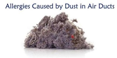 Allergies Caused by Dust in Air Ducts